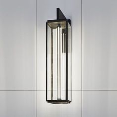 Nautic|tekna.be ILFORD WALL ON BRACKET 900 bronze antique verre clair