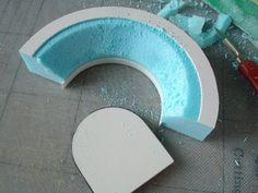 How-to: Shaping styrofoam