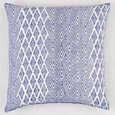 "JR by John Robshaw Naga Iris Euro Decorative Pillow, 26"" x 26""   Bloomingdale's"
