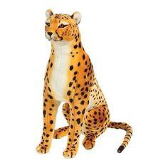 Giant Stuffed Animals | big plush cheetah stuffed animal