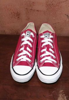 9951818d9a632 Converse CHUCK TAYLOR ALL STAR Women s SHOES LOW RED SIZE 8(men 6)  fashion   clothing  shoes  accessories  womensshoes  athleticshoes (ebay link)