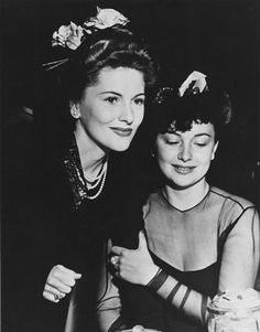 "For the first time, two real-life sisters were nominated in the Best Actress category. Joan Fontaine (""Suspicion"") won over sibling Olivia de Havilland (""Hold Back the Dawn""). 1942"