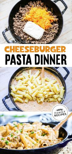 Dinner Recipes Easy Quick, Quick Easy Meals, Recipes Dinner, Easy Meals To Cook, Easy Pasta Meals, Easy Family Recipes, Easy Meals For Dinner, Easy Dinners For Kids, Easy Pasta Dinner Recipes