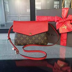 Louis Vuitton Twinset Red