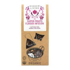 Higher Living Super Fruits Organic Tea 15Pk