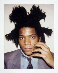 Jean Michel Basquiat The Polaroids by Andy Warhol