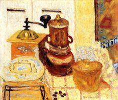 The Coffee Grinder Pierre Bonnard - 1930