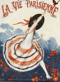Illustration by Armand Vallee For La Vie Parisienne June 1922
