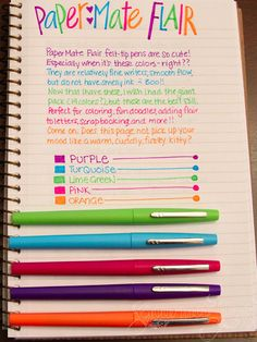 Organized Charm: Back to School Shopping List. Color coding your planner/agenda