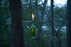DIY Oil lamps