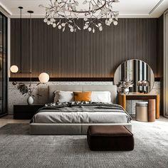 Modern Master Bedroom, Master Bedroom Design, Living Furniture, Living Room Interior, Dining Area Design, Interior Design Boards, Bedroom Styles, Luxurious Bedrooms, Contemporary Interior