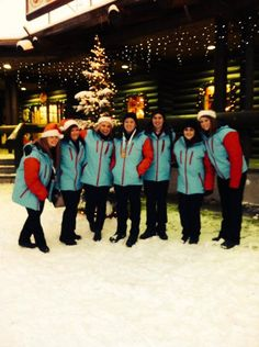Our team in Lapland