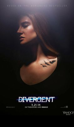 Shailene Woodley & Theo James: New 'Divergent' Posters!: Photo Check out Shailene Woodley and a shirtless Theo James in the new posters for their highly anticipated movie Divergent! Divergent Tris, Divergent Movie Stills, Divergent Movie Poster, Divergent Characters, Divergent 2014, Watch Divergent, Divergent Makeup, Divergent Symbols, Female Characters