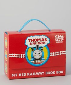 Take a look at this Thomas & Friends: My Red Railway Board Book Boxed Set by Random House on #zulily today!