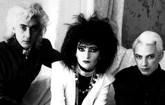Siouxsie and the Banshees Photography inspiration  I like the jewellery and makeup