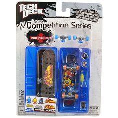 Tech Deck Competition Series [World Industries - Blue Case]
