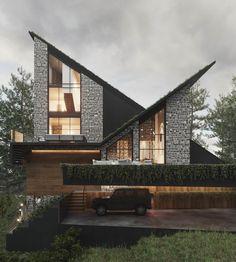 Amazing Architecture, Architecture Design, Mansions, House Styles, Villa, Home Decor, House Design, Instagram, Houses