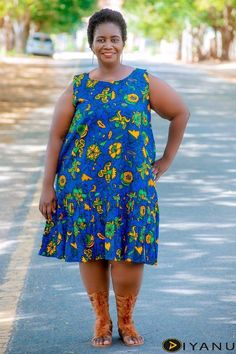 African Prints Plus Size Women Dresses, Ankara Prints Short Gown, African Clothing, Afrocentric Dress, Kitenge Wear at Diyanu Short Gowns, Paris Dresses, Kitenge, African Fashion, Different Fabrics, Plus Size Women, African Prints, Ankara, My Style