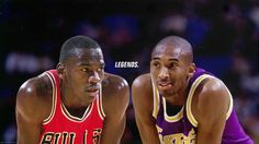 There is no doubt that Michael Jordan was the best player to ever play the game. People have been comparing current NBA Players to Jordan for years. Michael Jordan and Kobe Bryant 'Legends' Wallpaper Lebron James Basketball, Basketball Funny, Basketball Players, Air Max 2009, Nike Air Max 2012, Kobe Bryant Michael Jordan, Kobe Bryant Quotes, Surf, Basketball Highlights