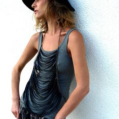 "BRAVEHEART - Recycled Inner tube Body Piece design inspiration on Fab.-Beatrice Holliday -USA  ""Beatrice Holiday creates Cruiser Handlebar Bags, Seat Covers and Inner Tube Jewelry - made out of vintage upholstery fabrics and recycled inner tubes."""