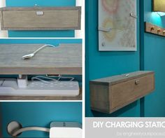 Finding a dedicated spot to charge electronic devices while keeping the wires tamed and out of sight can be a challenge. And when you live with roomma...