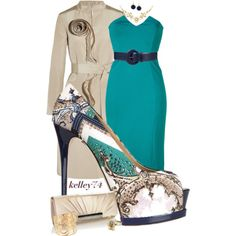 A fashion look from April 2013 featuring CATHERINE MALANDRINO dresses, Oscar de la Renta coats and Gianmarco Lorenzi pumps. Browse and shop related looks.
