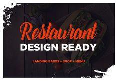 Restaurant Ready Design by TDA on @creativemarket