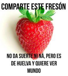 Huelva 🍓 Fresas y Fresones que se conozcan los productos de Nuestra Huelva. 👉http://goo.gl/pKA9eq Dale a me gusta a mi pagina y comparte. Descubre Huelva !! 👉https://goo.gl/7ZZbaJ