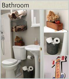 DIY industrial styled child's bathroom renovation - handicap accessible - houseofhawthornes.com