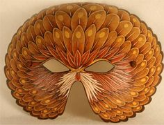 Woodburned Gourd Mask by Alois Decker Beautiful work! Decorative Gourds, Painted Gourds, Art Carved, Gourd Art, Pyrography, Wood Carving, Masquerade, Amazing Art, Eagle Mask