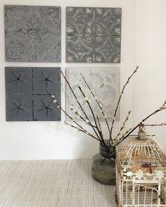 Maak je eigen #wanddecoratie met #wandpaneel small van Artivue