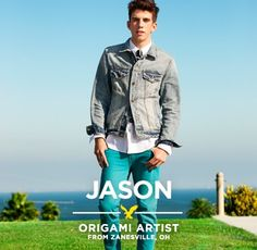Meet Jason, an origami artist from Oklahoma City, Oklahoma. Jason began creating origami to give as gifts to his friends. While on the Spring 2013 photo shoot, Jason was creating flower hair ties for the girls and even created an origami eagle for the American Eagle Outfitters team. Throughout the week, Jason was constantly getting [...]