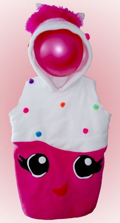 KIDS Cupcake Hoodie Costume Vest Jacket by INANAICLOTHING on Etsy