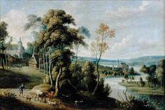Landscape by Lucas van Uden