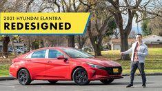 The Newly Redesigned 2021 Hyundai Elantra Hands