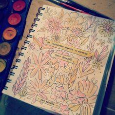 Pau Minotto's Sketchbook #pauminotto #benedetti ♡ #sketchbook #sketching #watercolor #sunday #domingo #frio #acuarelas