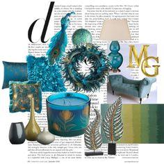 peacock bedroom accessories   Peacock Inspired…   Design Indulgences