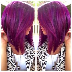 Color is fun...but LOVING the cut...maybe when I give up on my long hair dream