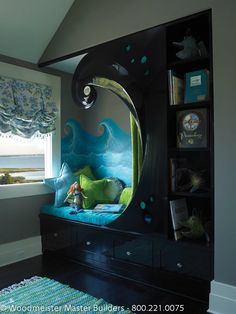 Specialty Spaces Nautical  Children's  room