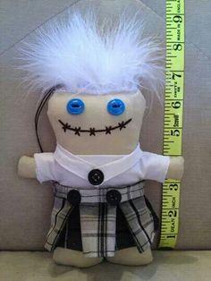 Uniform doll from Ugg Lee Dolls on facebook