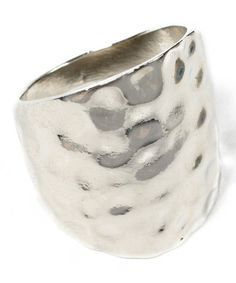 Take a look at this Silver Polka Ring by Amrita Singh on #zulily today!
