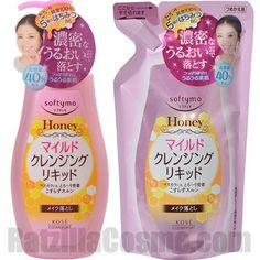 Launch Date: 2015.2.23 Packaging: 230ml Bottle / 200ml Refill Brand: Softymo Producer: KOSE COSMEPORT Corp. Product Type: Cleansing liquid Price:¥680 / 577