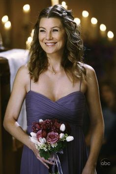'Grey's Anatomy' Wedding - Meredith Grey