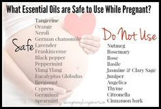 What Essential Oils Are Safe To Use While Pregnant?