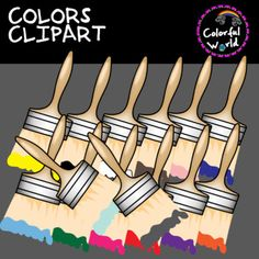 This color set includes 43 images, colored and b&w, high resolution, png format. You will recieve: 14 color splashes 15 brushes with color 14 brushes with color splashes. Png Format, Color Splash, Brushes, Clip Art, Colors, Image, Paint Splats, Blush, Colour