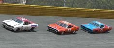 Old School Stock Car Action