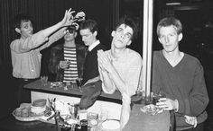 The Birthday Party, London 1980