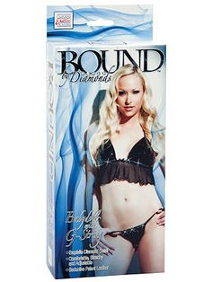 Bound By Diamonds - Babydoll with G-String 	 Bound By Diamonds - Babydoll with G-String