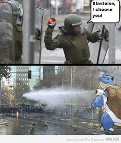 Pokemon in real life lol