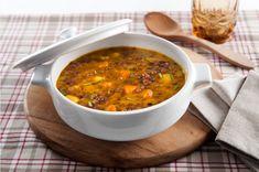 zuppa lenticchie patate zucca